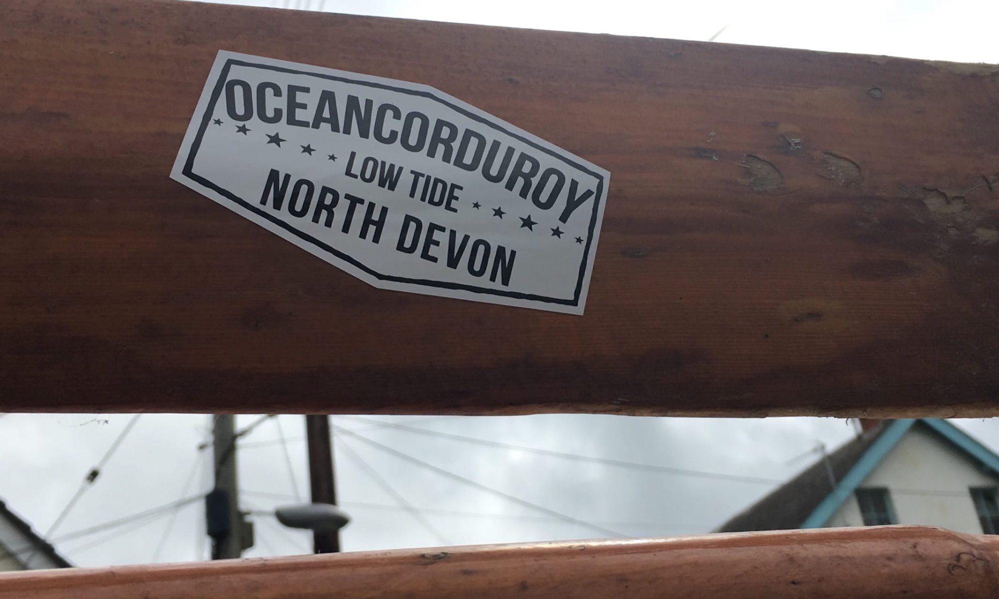 Ocean Corduroy